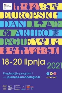 AMZ – Tri dana za otkrivanje arheologije – od 18. do 20. lipnja 2021. Europski dani arheologije diljem Hrvatske (PRESS)